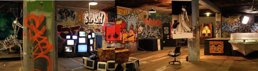 Bryan Matthew Boutwell's Art Studio Space, The Gear Factory Syracuse NY, Live Fiction.net, Art Studio SPace,