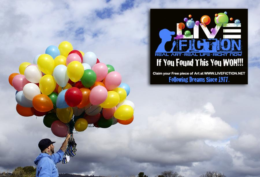 Art Project Balloon Launch by Bryan Matthew Boutwell at LiveFiction.net