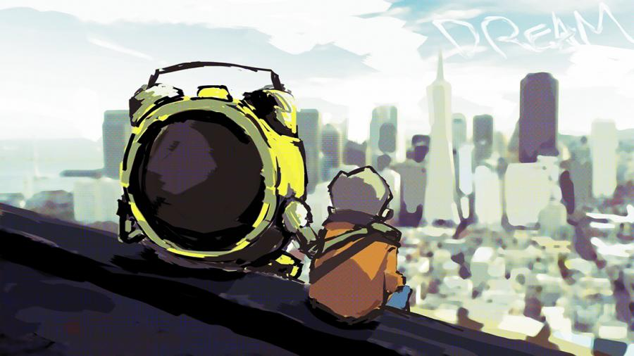 Broken Rainbows Animation Short by artist Bryan Boutwell and Steven Yu