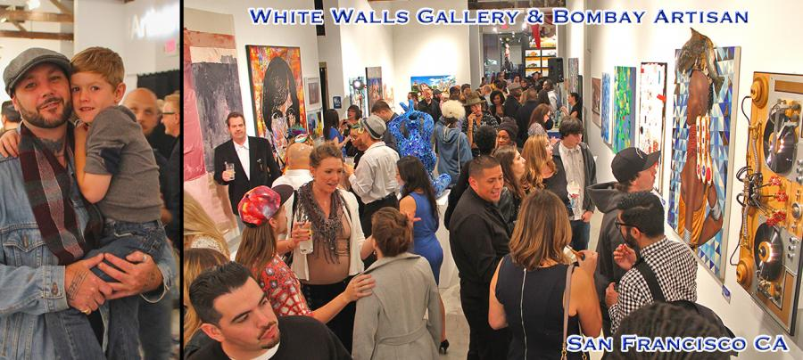 White Walls Gallery San Francisco Features Bryan Boutwell at Art Competition
